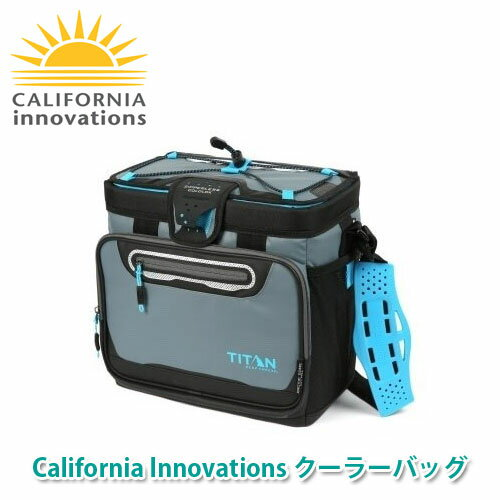California Innovations ジッパーレス クーラーバッグ グレー