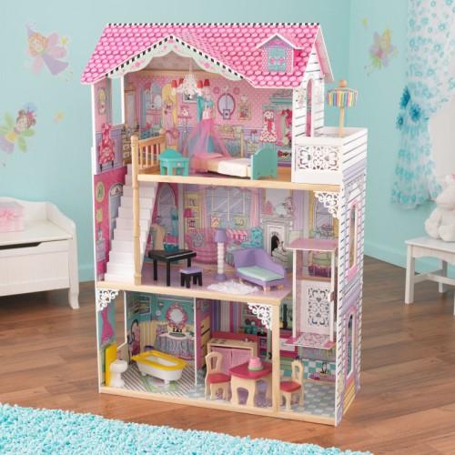 送料無料 KidKraft Annabelle Doll House キッドクラフト アナベルドールハウス エレベーター 階段 正規品 おままごと 木製 おもちゃ 【ラッキーシール対応】