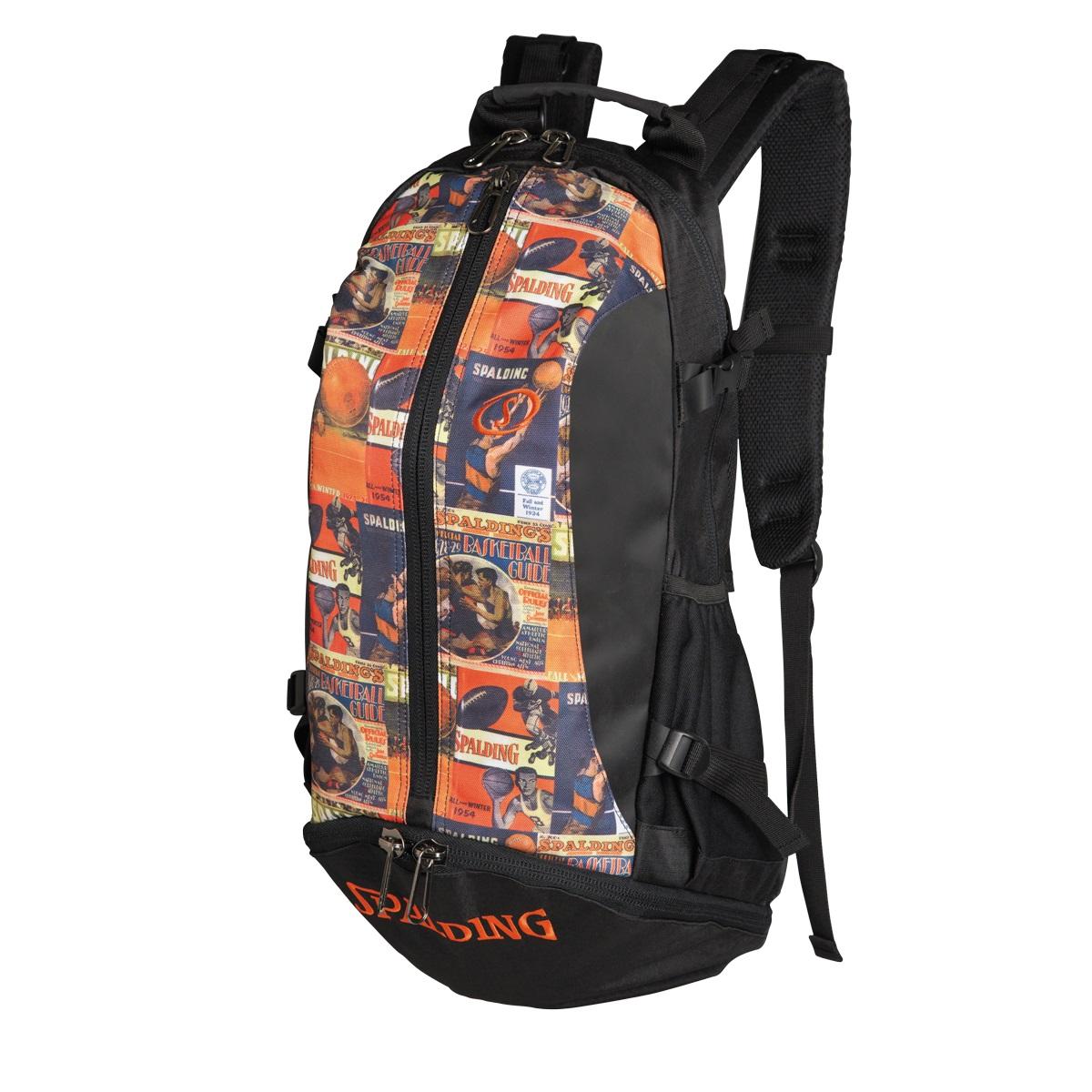 【送料無料】【当店ポイント5倍】【SPALDING・スポルディング】ケイジャー バッグクラシックリュック バスケットボールバッグ バッグパック 32L