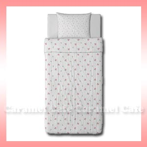 EMELINA KNOPP single quilt cover & pillowcase ( pedicels )
