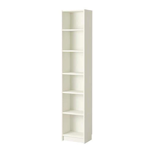 【送料無料】【当店ポイント5倍】【IKEAイケア】BILLY ビリー書棚 ホワイト 40x28x202cm
