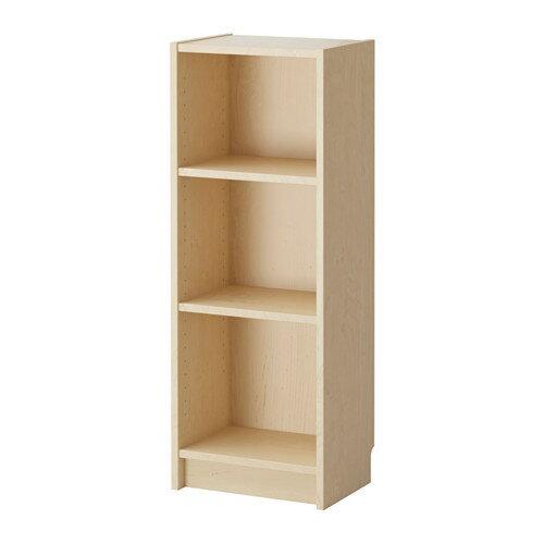【送料無料】【当店ポイント5倍】【IKEAイケア】BILLY ビリー書棚 ホワイトステインオーク材突き板(バーチ) 40x28x106cm