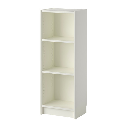 【送料無料】【IKEAイケア】BILLY ビリー書棚 ホワイト 40x28x106cm