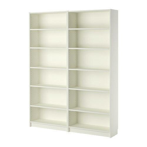 夏休みセール【IKEAイケア】BILLY ビリー書棚 ホワイト 160x202x28cm05P04Jul15