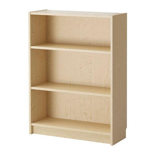 【送料無料】【当店ポイント5倍】【IKEAイケア】BILLY ビリー書棚 ホワイトステインオーク材突き板(バーチ) 80x28x106cm