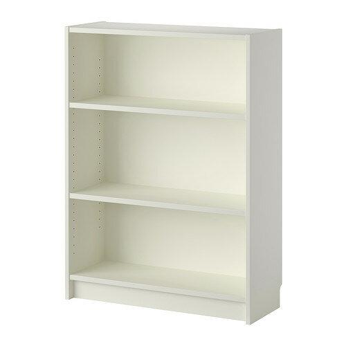 【送料無料】【当店ポイント5倍】【IKEAイケア】BILLY ビリー書棚 ホワイト 80x28x106cm703.515.70