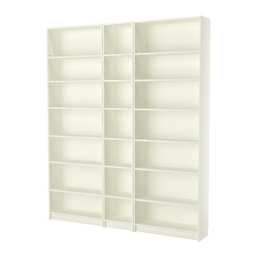 【送料無料】【IKEAイケア】BILLY ビリー書棚 白ホワイト 200x237x28cm間仕切り収納リビング収納壁面収納