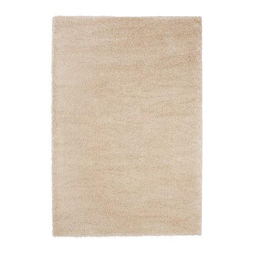 夏休みセール【IKEAイケア】ADUM ラグ パイル長 133×195cm 【オフホワイト】05P04Jul15