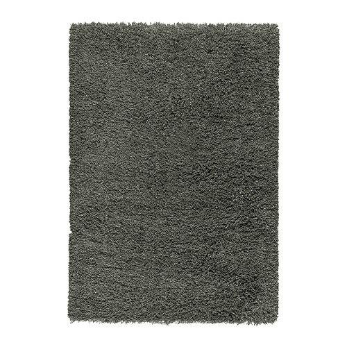 【IKEAイケア】GASER ラグ パイル長 170×240cm カーペット絨毯3畳【ダークグレー】02P13Nov14 【ラッキーシール対応】