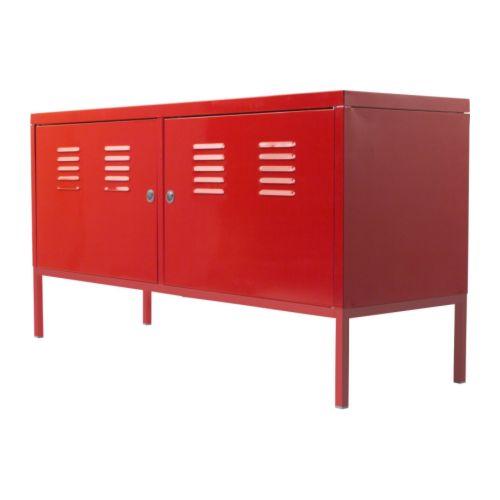 夏休みセール【IKEAイケア】IKEA PS キャビネット 【レッド】05P04Jul15