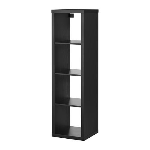 【送料無料】【IKEAイケア】KALLAX シェルフユニット 42×147cm【ブラックブラウン】