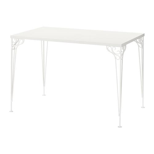 【IKEAイケア】FALKHOJDEN デスク 110x65 cm【ホワイト】