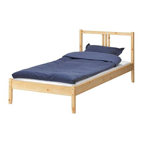 送料無料夏休みセール【IKEAイケア】FJELLSEベッドフレーム・すのこセット【パイン材・バーチ材突き板】届いてすぐに使えるすのこ付き♪