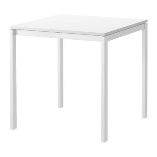 送料無料【IKEAイケア】MELLTORP テーブル75x75 cm【ホワイト】