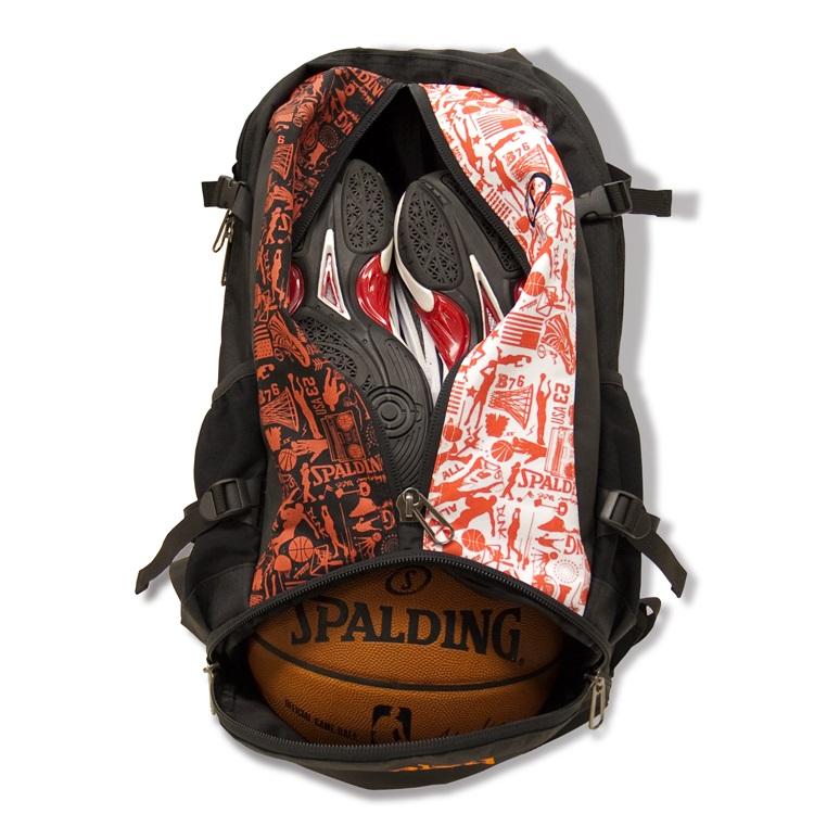【送料無料】【SPALDING・スポルディング】ケイジャー バッググラフィティリュック バスケットボールバッグ バッグパック 32L