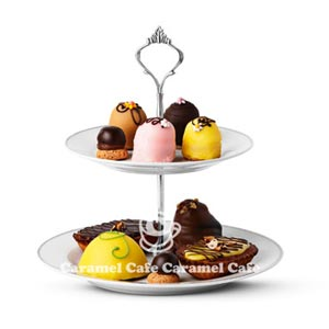 북유럽 잡화 타이거 코펜하겐 KAGEFAD・CAKE PRATE 세련된 2단 케이크 플레이트 05 P04Jul15