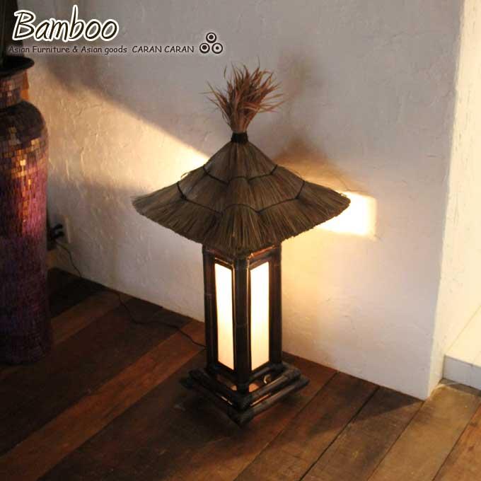 Bamboo Lamp Lantern Indirect Lighting Stand Lights   Bali Bamboo Furniture  Asian Furniture