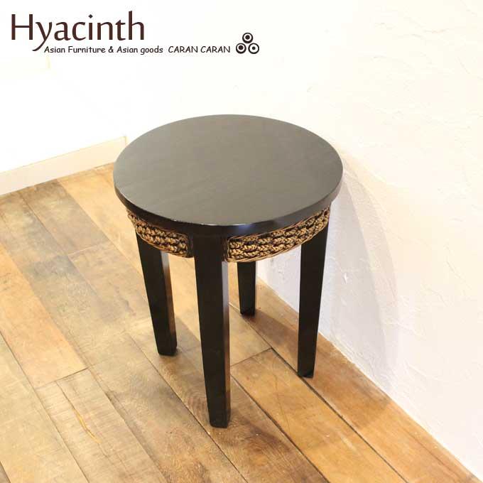 ヒヤシンスとチークのラウンジテーブル アジアン家具 机