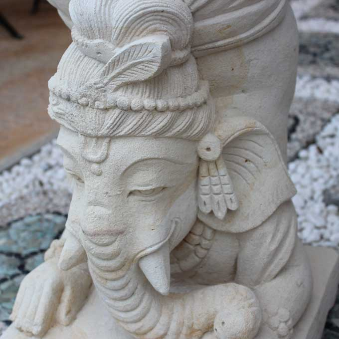 Great Stone Art Object | Of Handstand Ganesh Asian Interior Horse Mackerel Ann  Exterior Horse Mackerel Ann Garden | Garden Porch Exterior Garden Gardening  | Stone ...