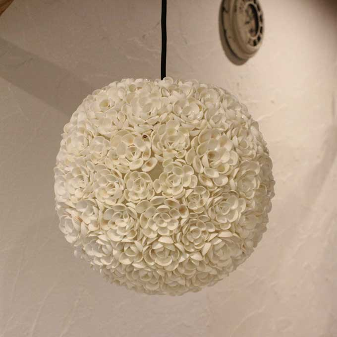 Trendy Asian Hanging Lights Made From Shell Pendant Light Ceiling Lights