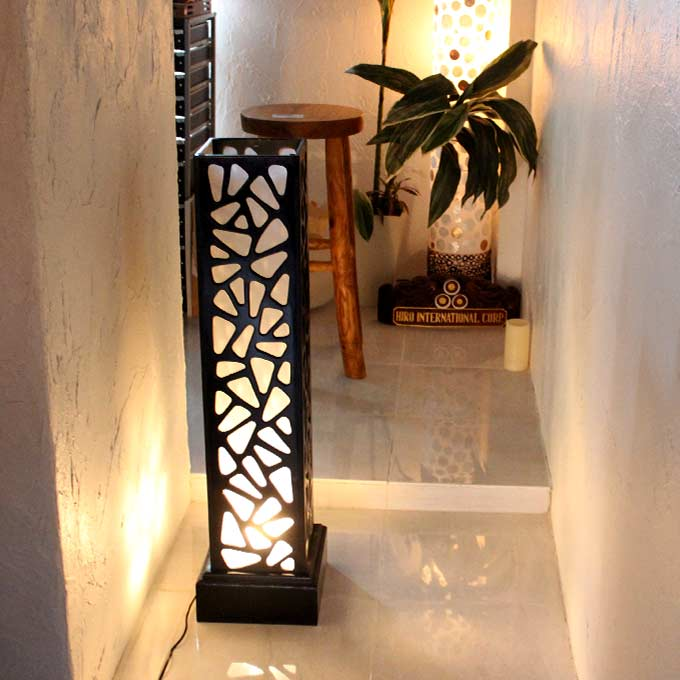 バリ風 アジアンリゾート ライト 照明 フロアスタンドライト H100cm
