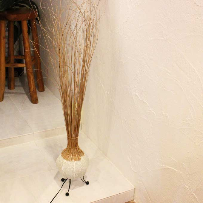 バリ島 アジアンライト フロア スタンド ライト ランプ 照明 H130cm