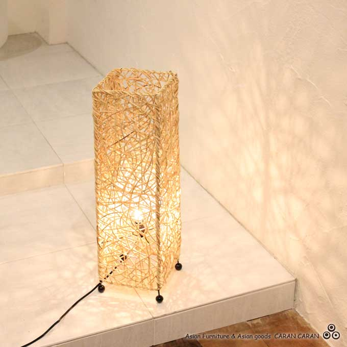 Caran2 rakuten global market lighting concealed lighting light lighting concealed lighting light stand floor light floor lamp rattan natural h60cm asian interior lights delax aloadofball Images