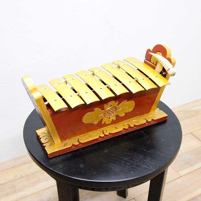 バリ島 ガムラン 鉄筋 民族楽器 音楽 ドレミ音階 アジアン バリ インテリア オブジェ 置物