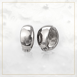 K18フープイヤリング (18金 18k ゴールド製) (10mmスピンドル) ピアリング (ej0027k)