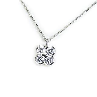 プラチナ(Pt900)ダイヤモンド0.43ctUPネックレス(pd2447)