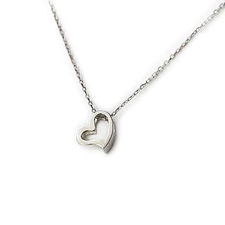 Carat rakuten global market k18wg white gold heart pendants angel k18wg white gold heart pendants angel heart pzh9wg mozeypictures Choice Image