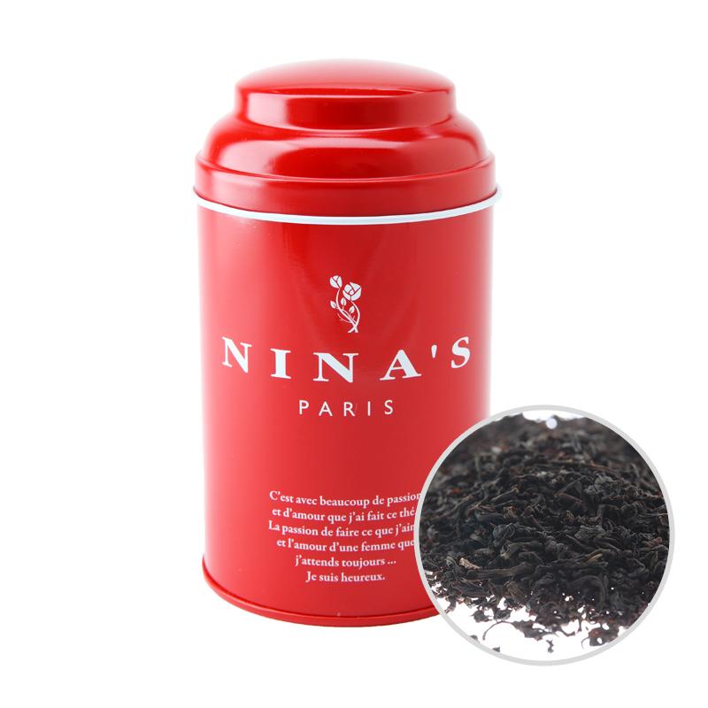 フランス生まれの紅茶 二ナス リーフティー ギフ_包装 爆安プライス ニナス アールグレイ リーフ 100g