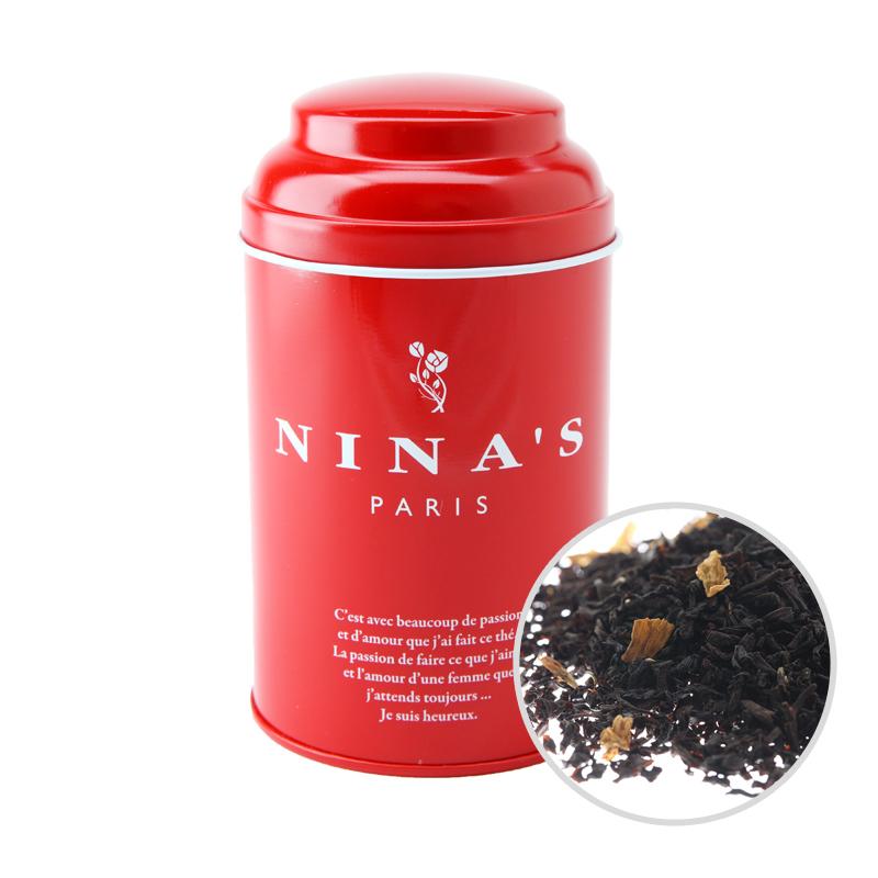 フランス生まれの紅茶 二ナス リーフティー 70%OFFアウトレット ニナス 日本最大級の品揃え リーフ ニナスブレンド 100g