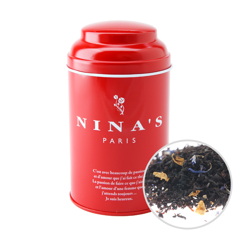 フランス生まれの紅茶 二ナス リーフティー ニナス パッション 100g 安心の実績 往復送料無料 高価 買取 強化中 マ リーフ