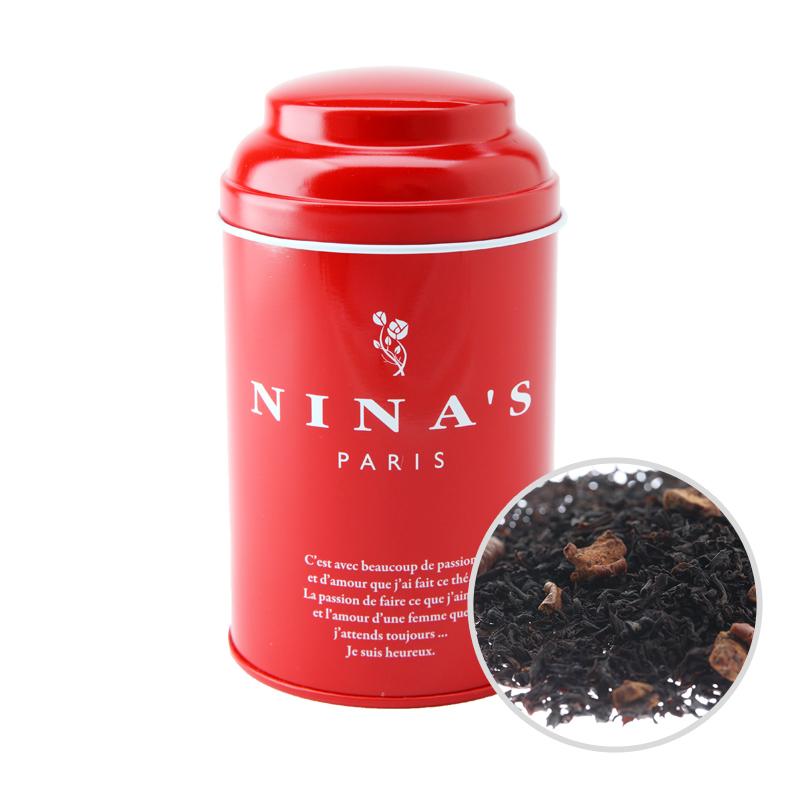 フランス生まれの紅茶 店舗 大特価 二ナス リーフティー ニナス イヴ 100g リーフ