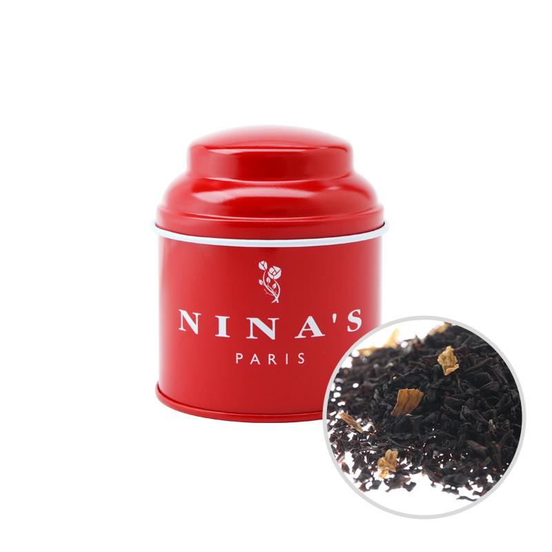国産品 フランス生まれの紅茶 二ナス リーフティー ニナス 通信販売 50g ニナスブレンド リーフ