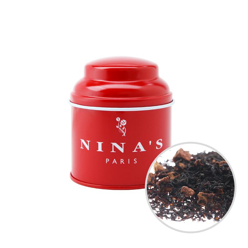 フランス生まれの紅茶 二ナス リーフティー [正規販売店] ニナス 50g リーフ 人気急上昇 テデアンジュ