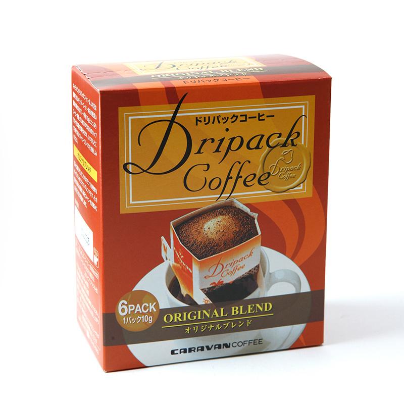 年中無休 ドリップバッグ ドリップパック ブレンド コーヒー たっぷり10g 横浜 ドリパックコーヒーオリジナルブレンド キャラバンコーヒー 横濱元町 5箱入り コーヒードリップ セール