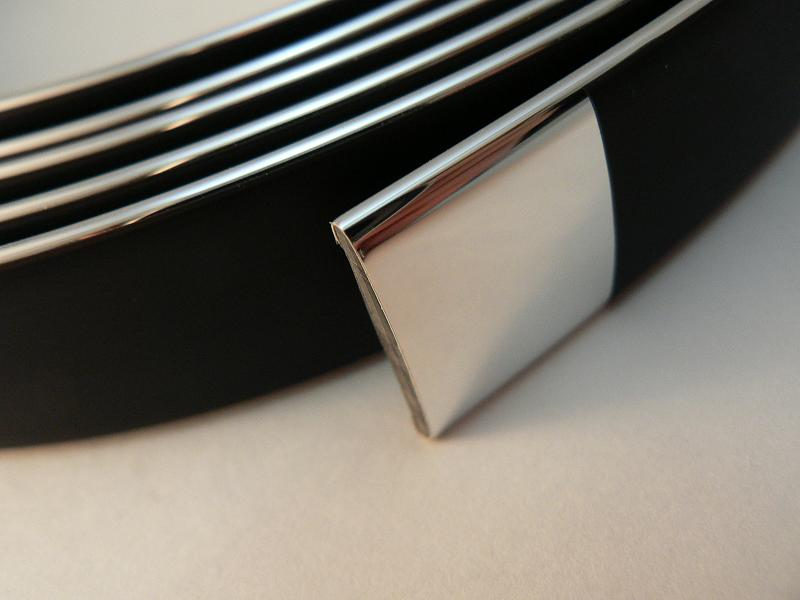 CHROME chrome molds × 3 m, volume