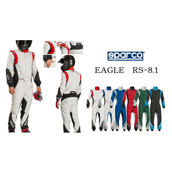 Sparcoレーシングスーツ EAGLE RS-8.1 スパルコレーシングスーツ EAGLE RS-8.1スパルコレーシング sparco SPARCO 0011272-SPC 送料無料