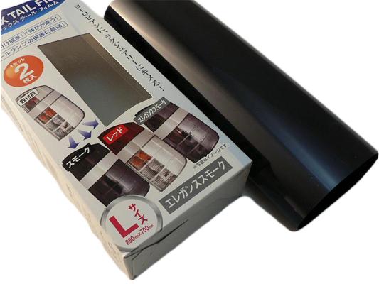 テールフィルム 伸縮性があり誰でも簡単に貼り付けられます。 【P2倍 マラソン限定】フレックス・テールフィルム【エレガンススモーク】250×700mm