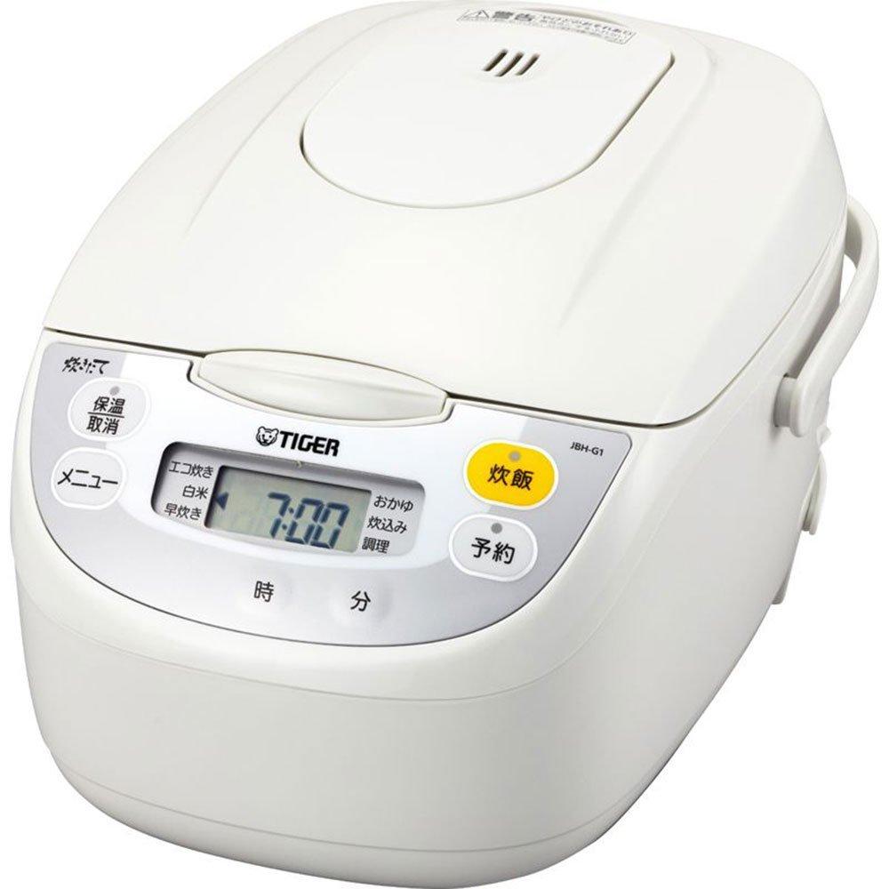 タイガー マイコン炊飯ジャー 1升 JBH-G181-W