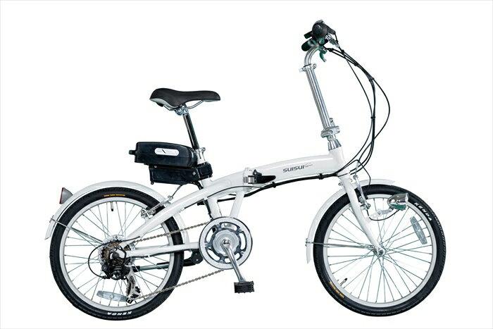 電動アシスト 折畳み自転車 20インチ 送料無料 MG-BA-A30