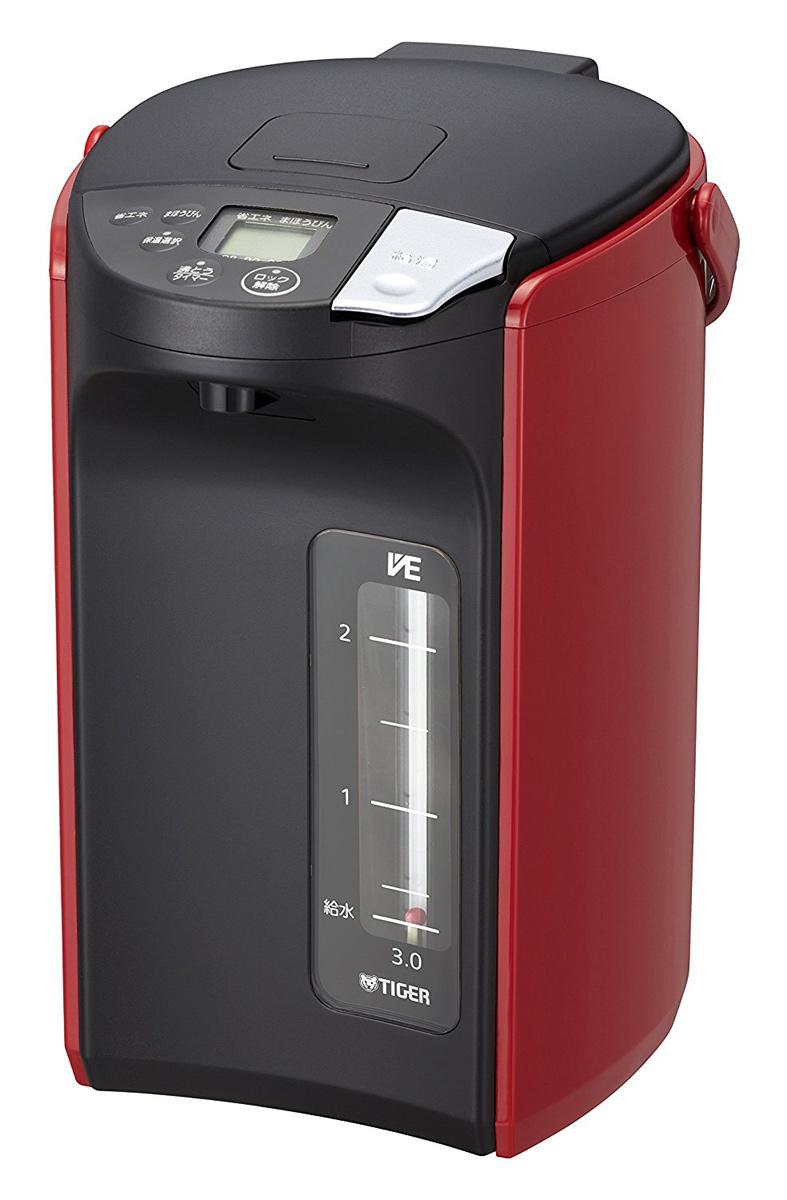 タイガー 魔法瓶 3.0L 蒸気レス VE 電気 とく子さん PIP-A300-R
