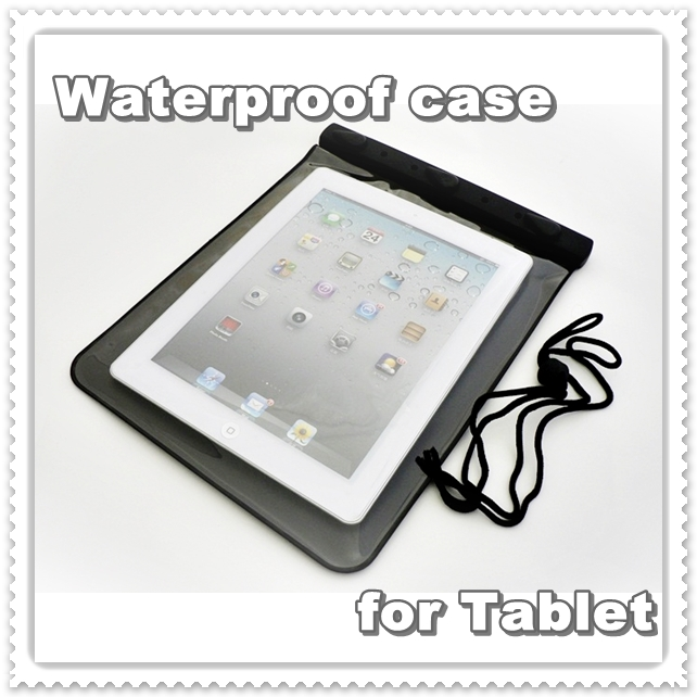 iPad iPad 2 vs according waterproof bag waterproof case black
