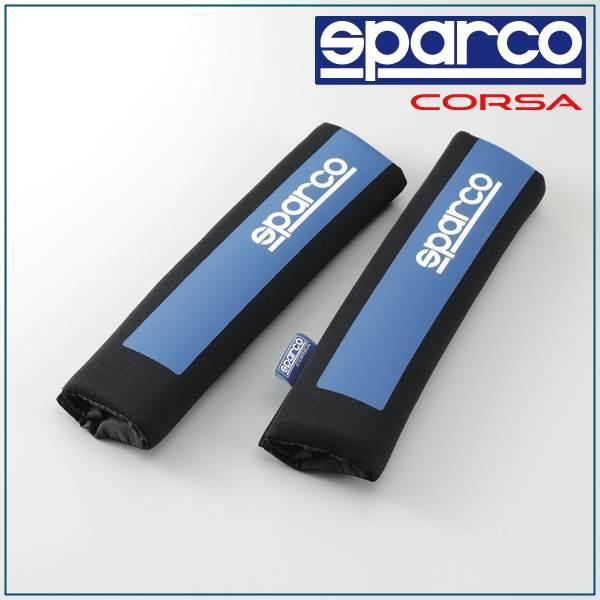 スパルコ, sparco/SPC, shoulder pat blue SPC1201