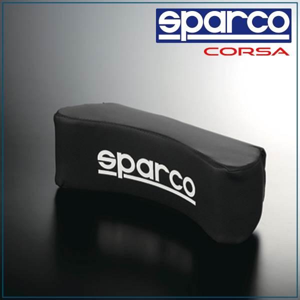 Sparco, SPARCO CORSA & neck pillow-black SPC4004