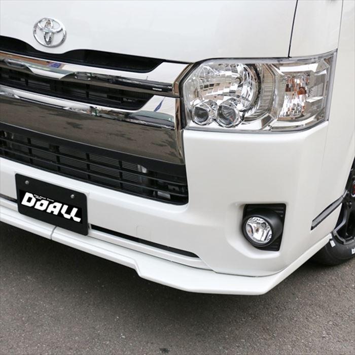 ワンタッチ スポイラー ハイエース 4型 アルジェノン 塗装済み 送料無料 トヨタ ワンタッチスポイラー カー用品 OTS03-1 CARAZ JPN