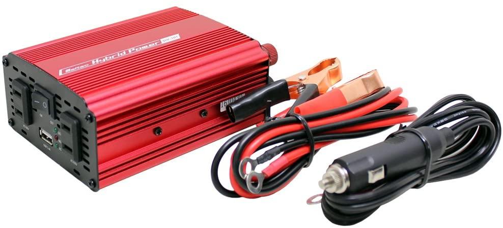 USB コンセント タップ 車 24V 再販ご予約限定送料無料 コンセント2口 120W 大自工業 静音タイプ 300W お見舞い USB1口 2.4A SIV301