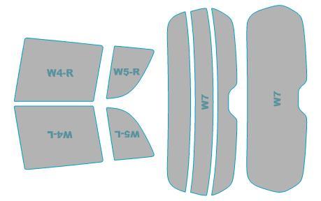 カーフィルム カット済み シルフィード 断熱スモーク スズキ スイフト スポーツ 【ZC32S型】 年式 H23.12-H28.12 車検対応 業務用 スモークフィルム ウインドウ フィルム